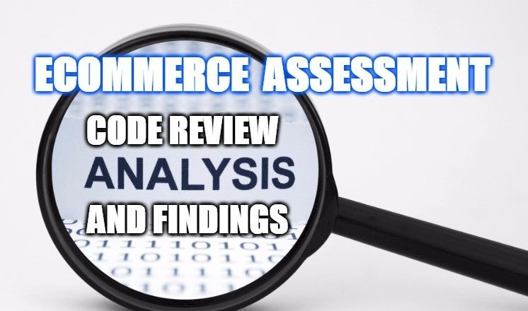 ecommerce assessment